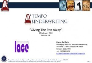 Giving The Pen Away